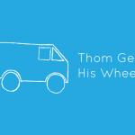 Thom gets his wheels