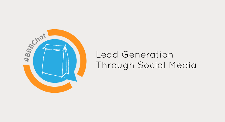 Brown bag business chat. How to generate leads through social media.