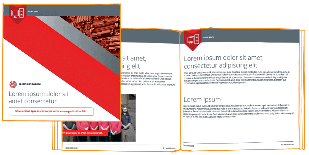 IT Marketing package —ebook template