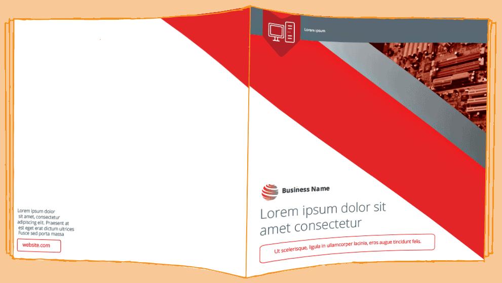 IT marketing package —brochure