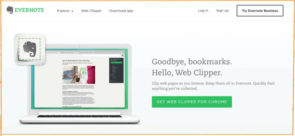 Evernote is one of the best project management tools out there — techniques for using it abound, and the savvy project manager will be smart enough to get the web clipper extension.