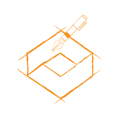 Orange pen in a sketchy outlined box. A logo redesign can breathe new life into your business, but is it worth it? Learn more about how to know when to update your logo.