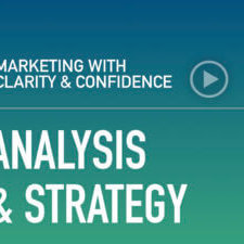 Marketing with clarity and confidence — marketing strategy, tactics, and why understanding the difference between the two is critical to success. Learn more.